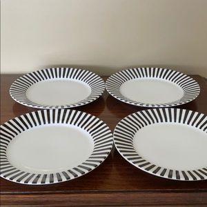 Vintage Eclipse set of 4 plates by Studio Nova